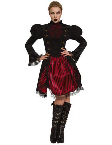Disfraz de Vampiresa Steampunk para...