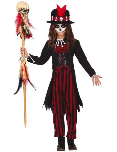 Disfraz de Hechicera Voodoo para Niña