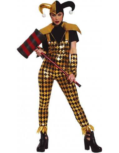 Disfraz de Harley Amarillo para Mujer