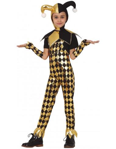 Disfraz de Harley Amarillo para Niña