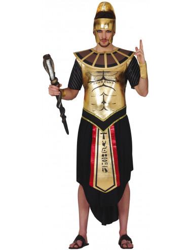 Disfraz de Rey Egipcio Negro y Dorado...