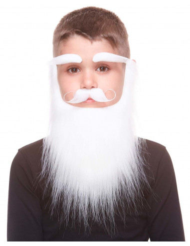 Barba Blanca de Papá Noel Infantil