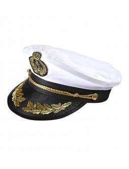 Gorra de capitan marina - Deluxe -