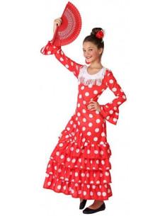 Disfraz de Flamenca Rojo...