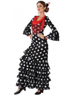 Disfraz de Flamenca Negro...