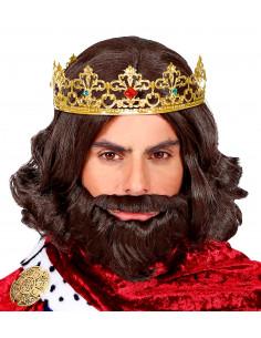 Corona de Rey Mago Dorada...