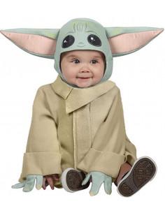 Disfraz de Baby Yoda para Bebé