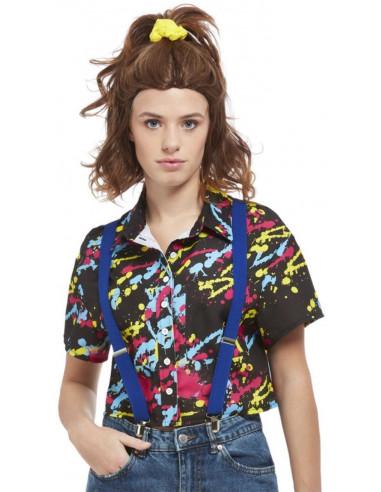 Camisa Eleven Negra con Estampado de...