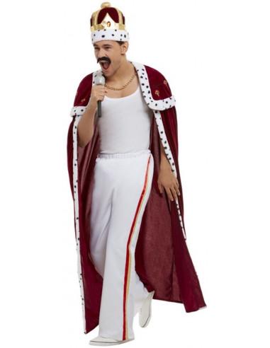 Disfraz de Freddie Mercury con Capa...