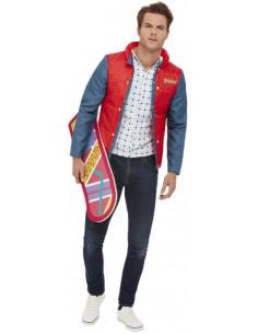 Disfraz de Marty McFly...