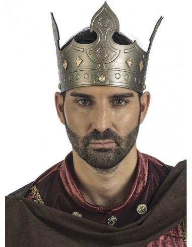 Corona de Rey Medieval Ajustable