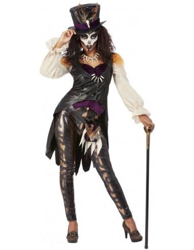 Disfraz de Voodoo Premium para Mujer
