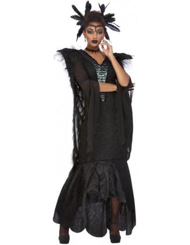 Disfraz de Reina Cuervo para Mujer