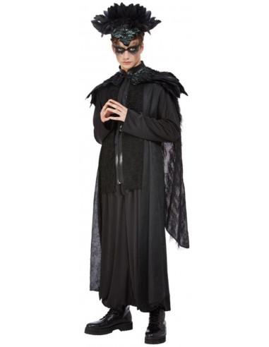 Disfraz de Rey Cuervo para Hombre