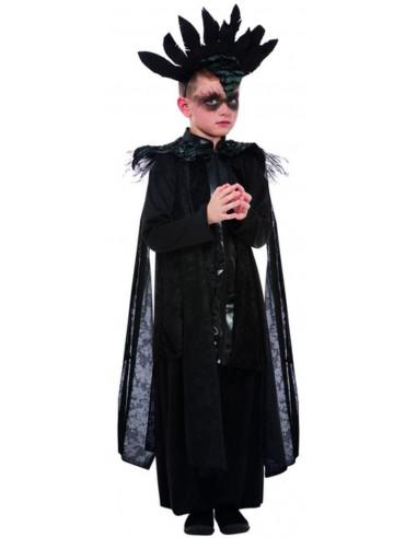 Disfraz de Rey Cuervo para Niño