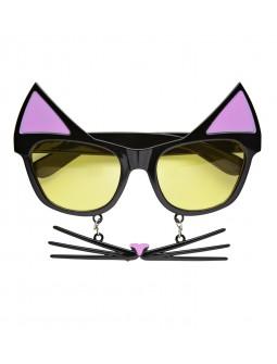 Gafas de Gato con bigote