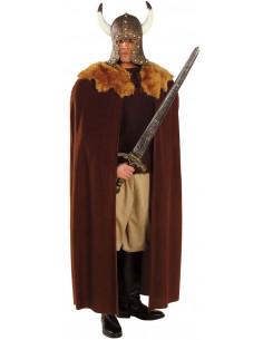 Capa Vikinga marron