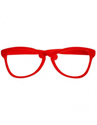 Gafas gigantes en Rojo
