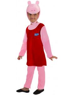 Disfraz de Peppa Pig para Niña