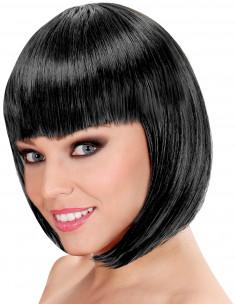 Peluca Negra Corta Lisa