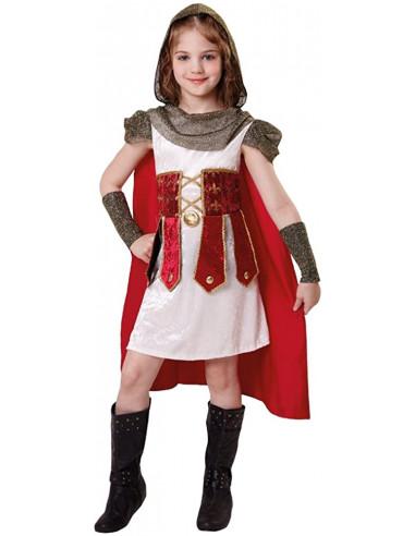 Disfraz de Guerrera Medieval Beige...