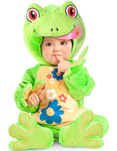 Disfraz de Rana Adorable para Bebé