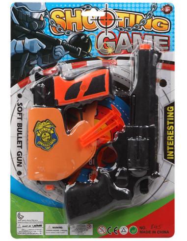 Kit de Pistolas de Policía Infantil