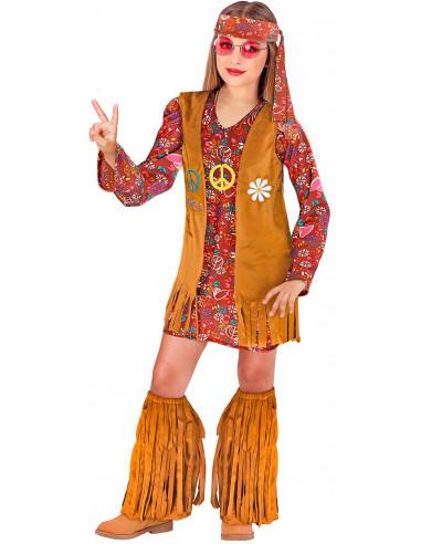 Disfraz de Hippie Vintage para Niña