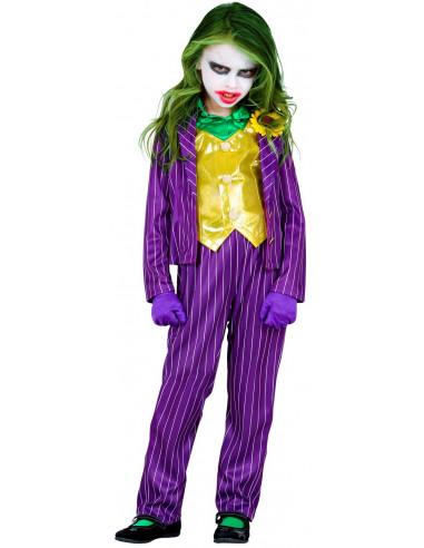 Disfraz de Joker Loca para Niña