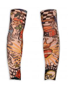Mangas de Tatuajes Retro de...