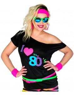 Camiseta Negra Años 80...