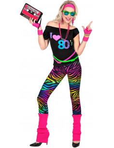 Disfraz de Chica Ochentera...