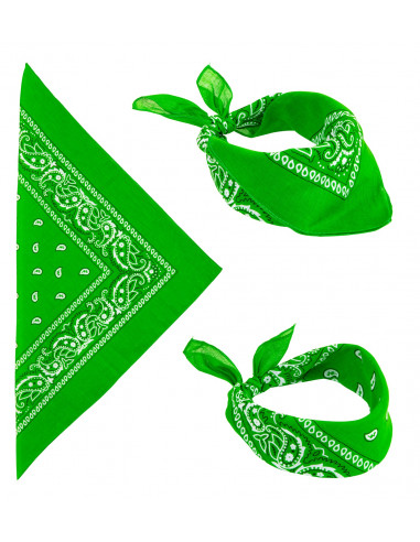 Bandana Verde para Adulto