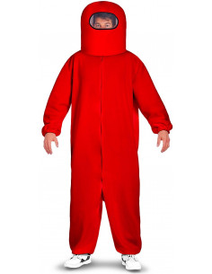 Disfraz de Among Us Rojo...