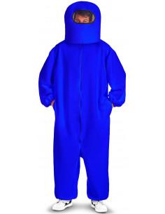 Disfraz de Among Us Azul...