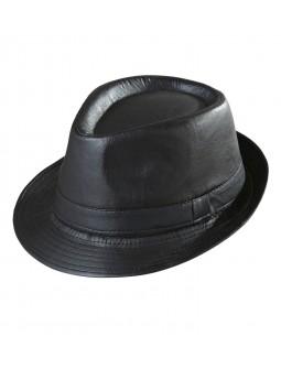 Sombrero imitacion cuero