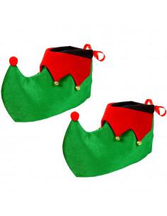 Cubrebotas de Elfo Navideño...