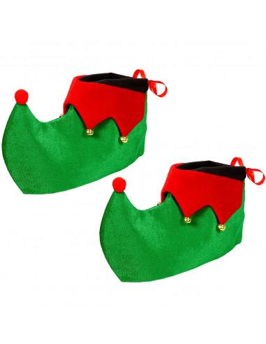 Cubrebotas de Elfo Navideño para Adulto