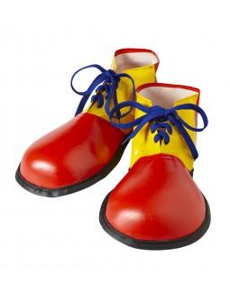 Zapatos Payaso en rojo y amarillo