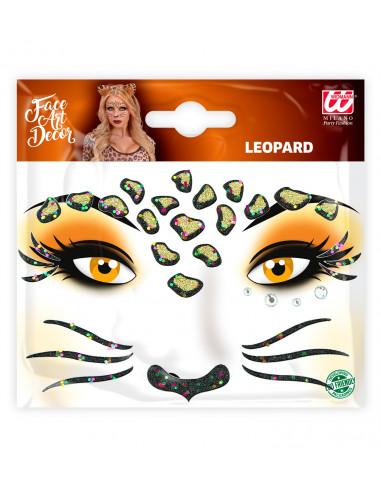 Set de Adhesivos de Leopardo con...
