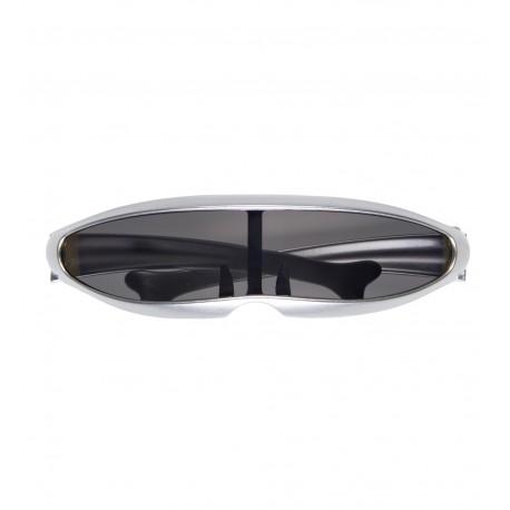 Gafas Ciberneticas plateadas