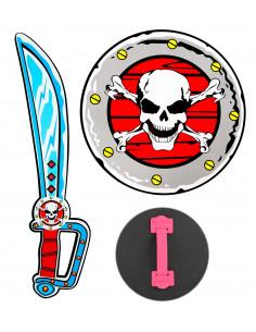 Escudo y Espada Pirata...