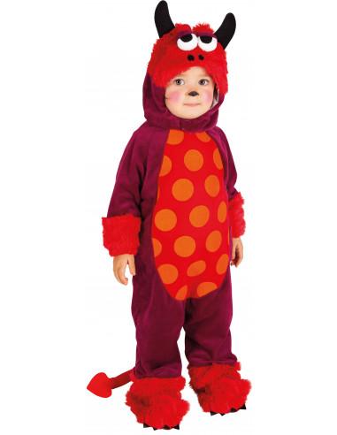 Disfraz de Monstruo Rojo Infantil