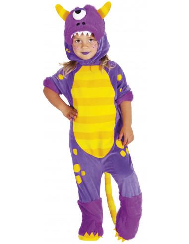 Disfraz de Monstruo Morado Infantil
