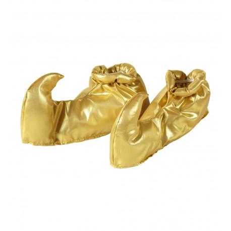 Cubre zapatos en oro