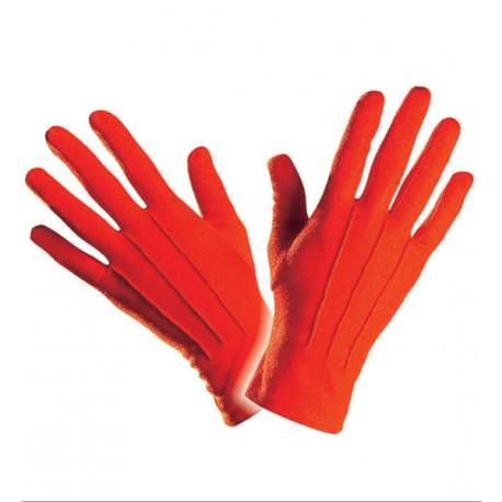 Guantes de Punto en Rojo