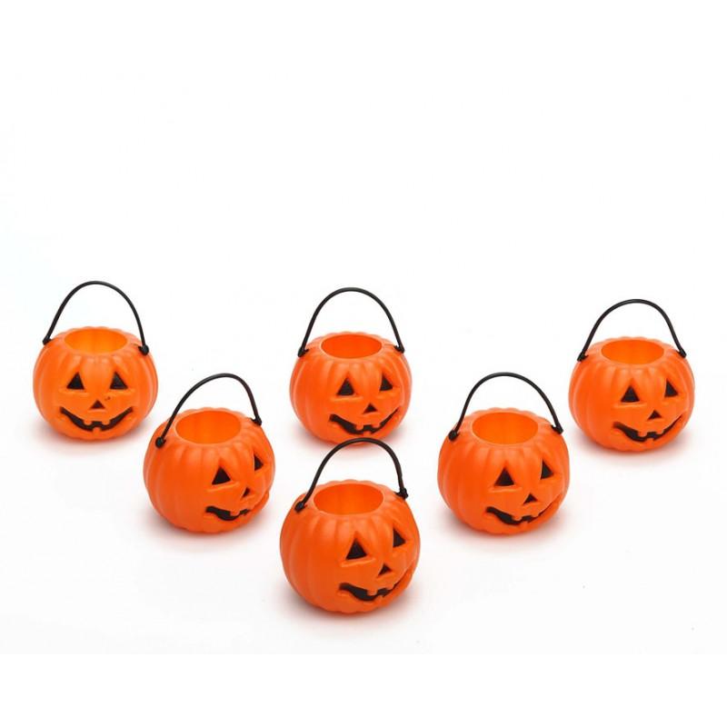 Seis mini calabazas - Halloween - 27017a02ff1
