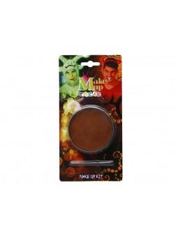 Maquillaje de Color Marron
