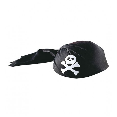 Casqeute de Pirata en forma de pañuelo