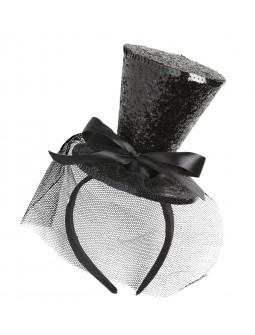 Mini sombrero Diadema
